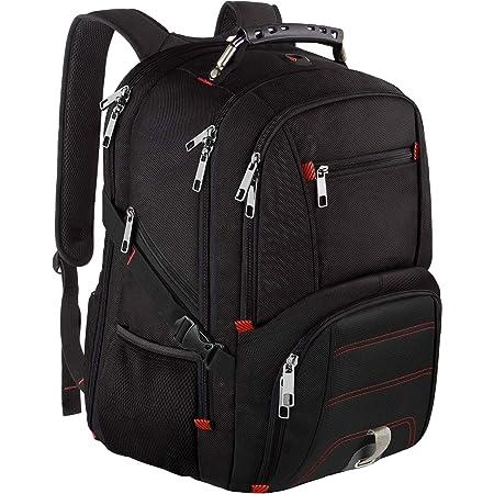 DEZIRO Waterfall Pattern Travel Backpack Large Bag School Multifunctional Backpack for Women/&Men 19x14x7 Inch