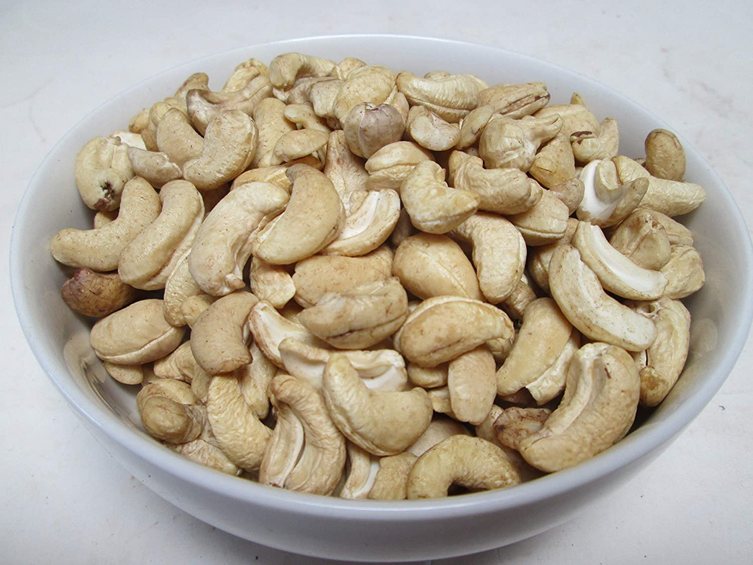 Raw Whole Excellent Cashews 25 320CT Sale price lbs