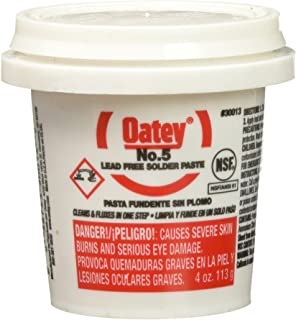 Oatey 30013 Paste Flux 4-Ounce Yellow