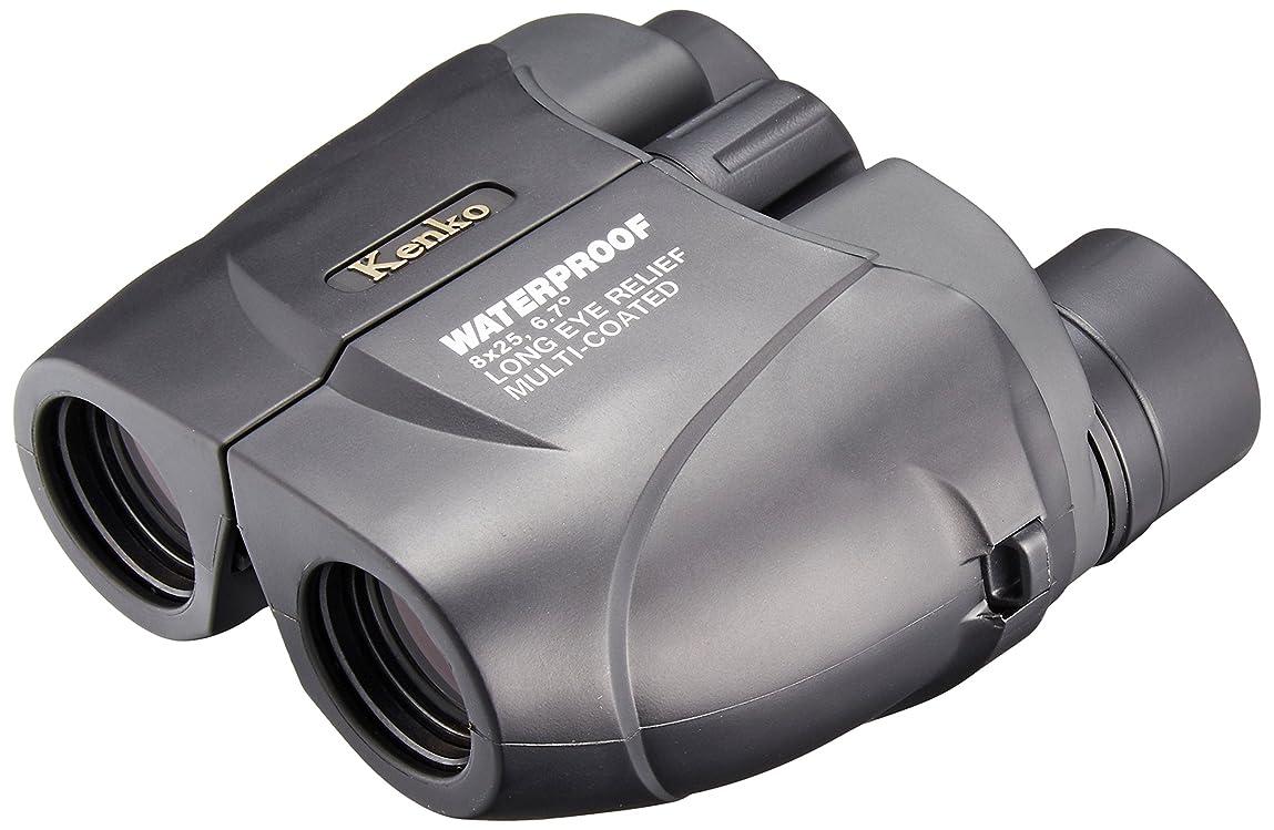 王室レイプ喉頭Kenko 双眼鏡 NEW SG New 8×25 SGWP ポロプリズム式 8倍 25口径 完全防水 ツイストアップ見口 ブラック 11744