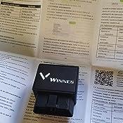 Winnes Localizador GPS Dispositivo Rastreador GPS OBD2 GPS Tracker Tiempo Real Alarma de Movimiento de Geovalla Antirrobo Alarma de Exceso de ...