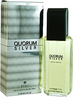 Quorum Silver by Antonio Puig Eau de Toilette Spray 3.4 OZ