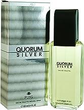 Antonio Puig Quorum Silver Eau De Toilette Spray 3.4 Oz, 100 milliliters
