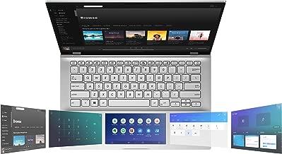 "Asus Vivobook S14 S432 Thin and Light 14"" FHD, Intel Core i7-8656U CPU, 8GB RAM, 512GB PCIe Nvme SSD, Ir Camera, Windows 10 Home, S432FA-AB74, Transparent Silver"