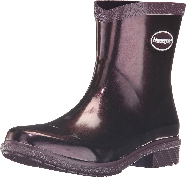 Havaianas Womens Galochas Low Metallic Rainboot Rain Boot