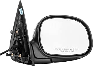 Dependable Direct Right Passenger Side Mirror for 1997-2003 Ford F-150 and 2004 Ford F-150 Heritage - Power Operated Unpainted Non-Heated Folding Door Mirror - FO1321134