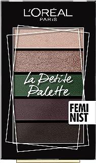 L'Oréal Paris Oogschaduwpalet, 5 kleuren, intensieve en heldere afwerking, 5 tinten, 5 x 0,8 g