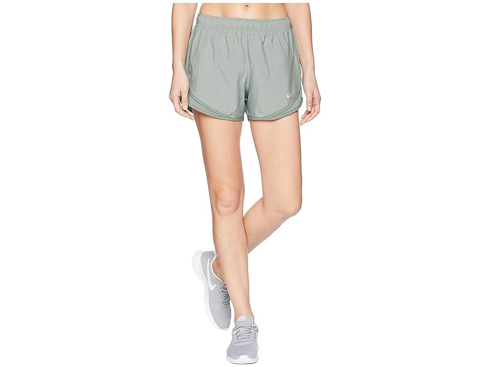 Nike Dry Tempo Short (Clay Green/Clay Green/Wolf Grey) Women