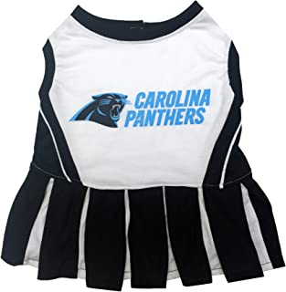 NFL CHEERLEADER For Dogs and Cats. - All 32 Teams and 3 Sizes available. - NFL Cheerleader Dress. - Cheerleader Outfit for Pets