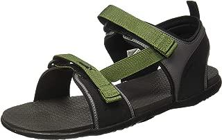 Puma Men's Hexa Idp Garden Green-Castlerock Bl Outdoor Sandals