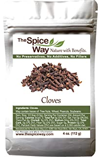 The Spice Way Cloves - whole  4 oz   clove spice, for many savory dishes and even tea