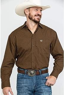 Men's Peached Poplin Print Shirt - 36D7718