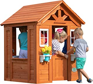 Backyard Discovery Timberlake All Cedar Wood Playhouse