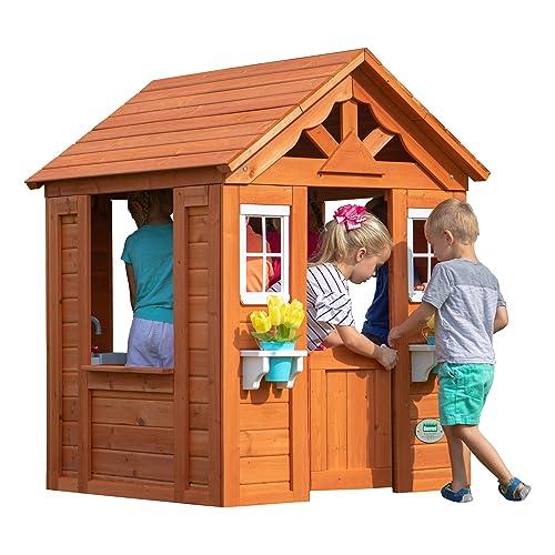 Wooden Playhouse Amazoncom