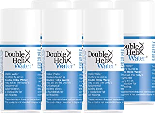 Double Helix Water (15 ml) 6 Pack - Immune Support, Anti Inflammation, Energy Supplement Water Drops Recovery Drink