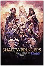 Printing Pira Final Fantasy XIV Online Shadowbringers Poster - Official Art - FF14 (18x24)
