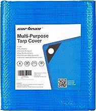 CARTMAN Multi-Purpose, Waterproof, Poly Tarp Cover 10x12ft