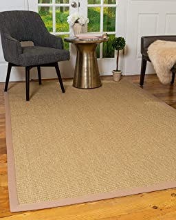 Natural Area Rugs 100% Natural Fiber, Handmade Kirby Beige Sisal Rug (8' x 10')