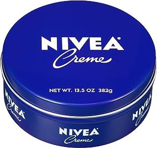 NIVEA Crème - Unisex All Purpose Moisturizing Cream for Body, Face and Hand Care - 13.5 oz. Tin Jar