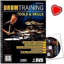 Drum Training Tools a Skills - Het ultieme trainingsprogramma voor het drums van Patrick Metzger - met DVD en kleurrijke h...