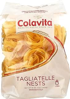 Colavita Tagliatelle Nest Pasta, 1 Pound (Pack of 10)