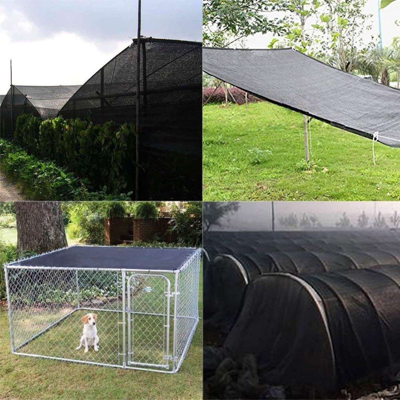 Sombra Paño 90% Tela De Sombra Sombra Solar Tela Solar Sombra Tela Tela Resistente A Los Rayos UV Red para Plantas De Flores De Jardín Cubrir Pérgola Cubierta De Lona: Amazon.es: Hogar