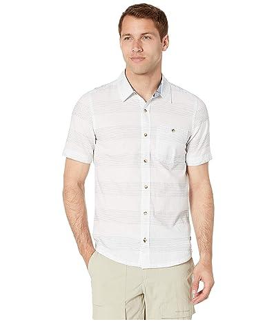 Toad&Co Airlift Short Sleeve Slim Shirt (White) Men