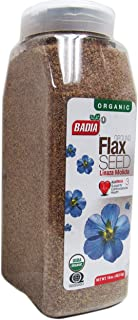 2 PACK- Organic Ground Flax Seed / Linaza Molida en Polvo Kosher 2x16 oz