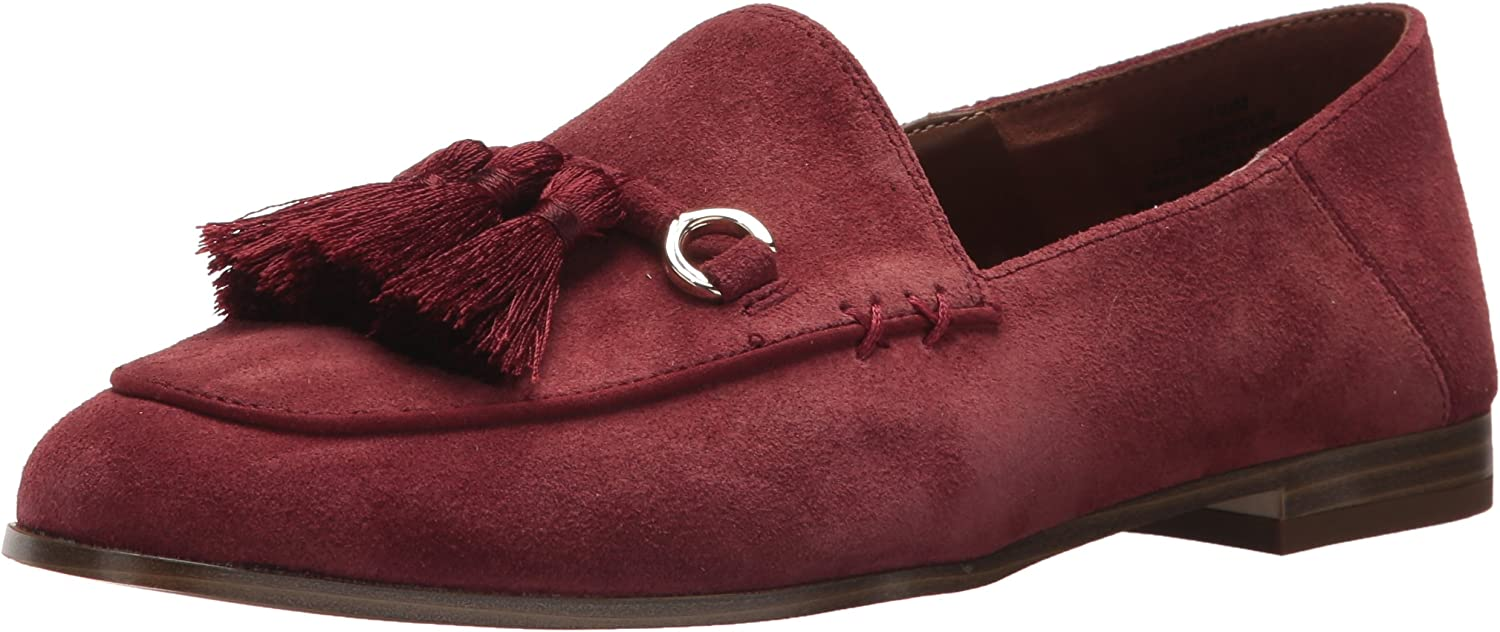 Nine West Womens Weslir Suede Loafer Flat