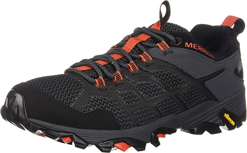 Merrell Men's Moab FST 2 Waterproof Hiking chaussures, noir Granite, 12.0 M US