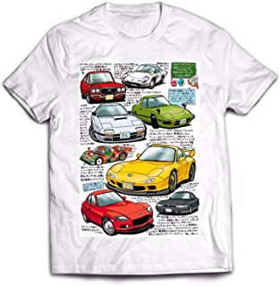 Tshirt Mazda Rotary RX-7-100% Ring-Spun Cotton T-Shirt