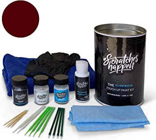 ScratchesHappen Exact-Match Touch Up Paint Kit Compatible with Mazda Soul Red Crystal (46V) - Complete