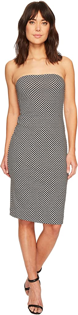 Nicole Miller Strapless Tube Dress