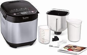 MoulinexPain et DelicesMachine à pain 1Kg720W 20 programmes automatiques Programme sans gluten Programme yaourt Pain m...