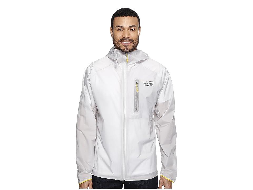 Mountain Hardwear Superchargertm Shell Jacket (Grey Ice) Men