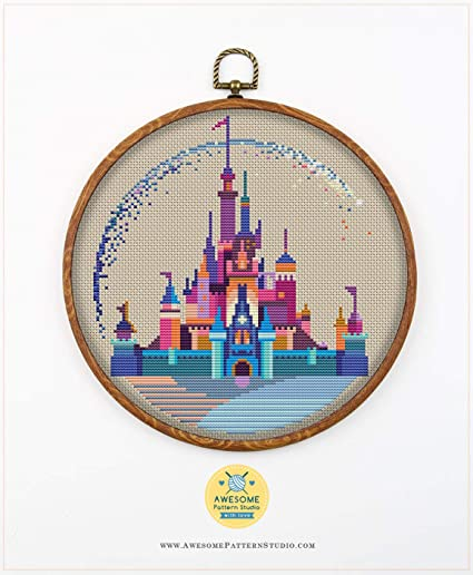 Cross stitch supply The Little Harbour Embroidery pattern Counted cross stitch PDF cross stitch Cross stitch pattern Cross stitch
