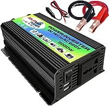 Semoic 150W DC 12V a AC 220V Convertisseur de Puissance de la Voiture avec Un connecteur USB Transformateurs de Tension Onduleurs de la Voiture Automobile