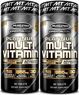 MuscleTech Platinum Multi Vitamin 90 Count (2 Pack)