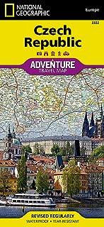 Czech Republic: Travel Maps International Adventure Map
