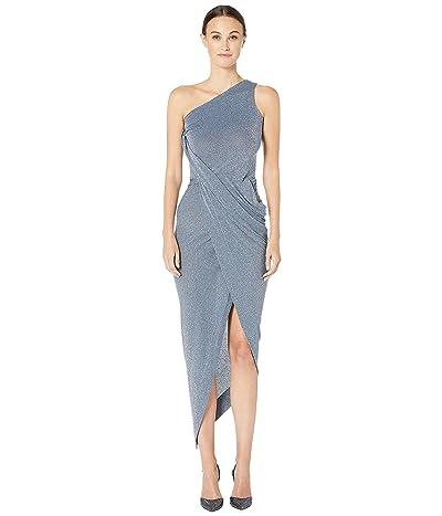 Vivienne Westwood One Shoulder Vian Dress (Blue) Women