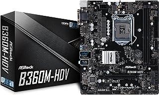 ASRock Intel B360チップセット搭載 Micro ATXマザーボード B360M-HDV