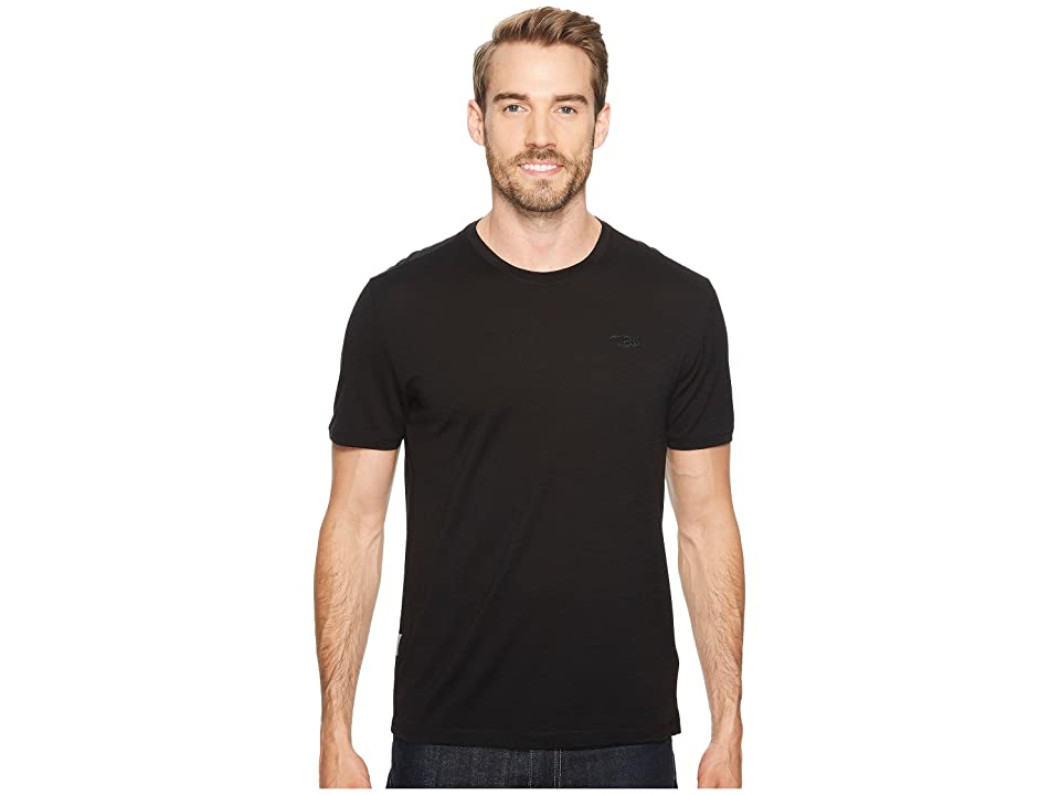 Icebreaker Tech T Lite Short Sleeve Shirt (Black) Men