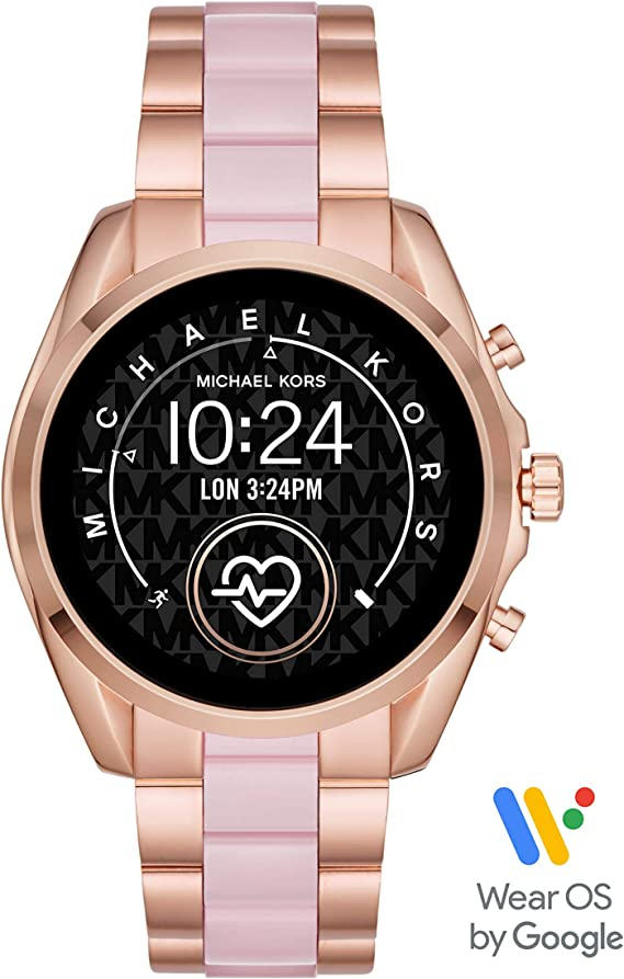 Michael Kors Access Gen 5 Bradshaw Smartwatch- Powered with Wear OS by Google with Speaker