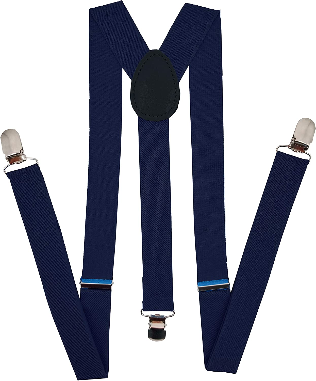 Navisima Adjustable Financial Max 83% OFF sales sale Elastic Y Back Menand Suspenders Style for