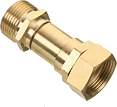 Mingle Pressure Washer Swivel Joint, Kink Free Gun to Hose Fitting, Anti Twist Metric M22 14mm Connection, 3000 PSI