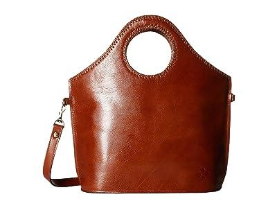 Patricia Nash Tooled Moretto (Tan) Tote Handbags