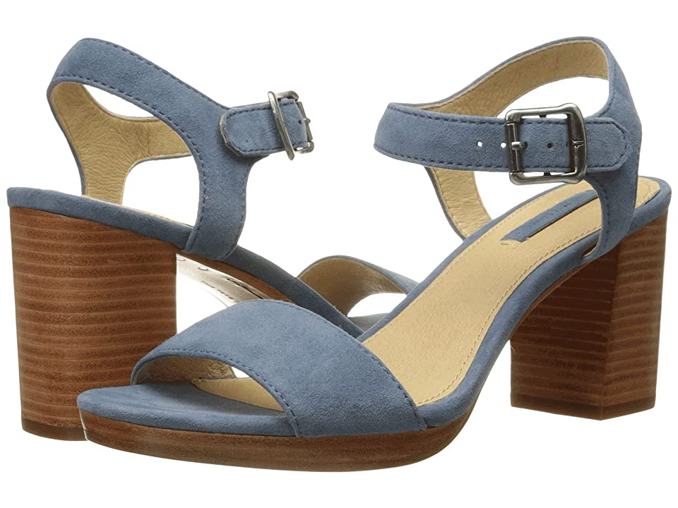Frye Blake 2 Piece (Blue Suede) High Heels