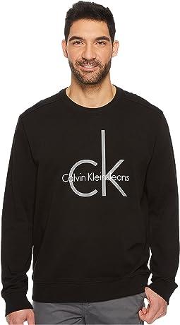 Calvin Klein Jeans - CK Logo Crew Neck Sweatshirt