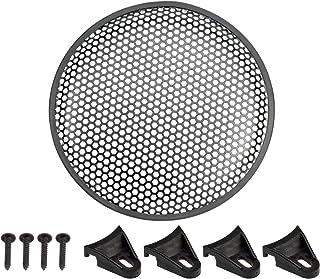 Lautsprechergitter 8' 20cm, Waben Muster, Sechsecklochung + Befestigungsset