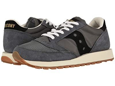Saucony Originals Jazz Original Vintage (Grey/Black) Men